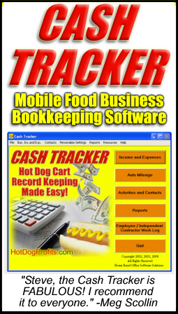 Cash Tracker Mobile Food Business Bookkeeping Software