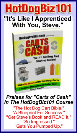 Hot Dog Biz 101 / Carts of Cash