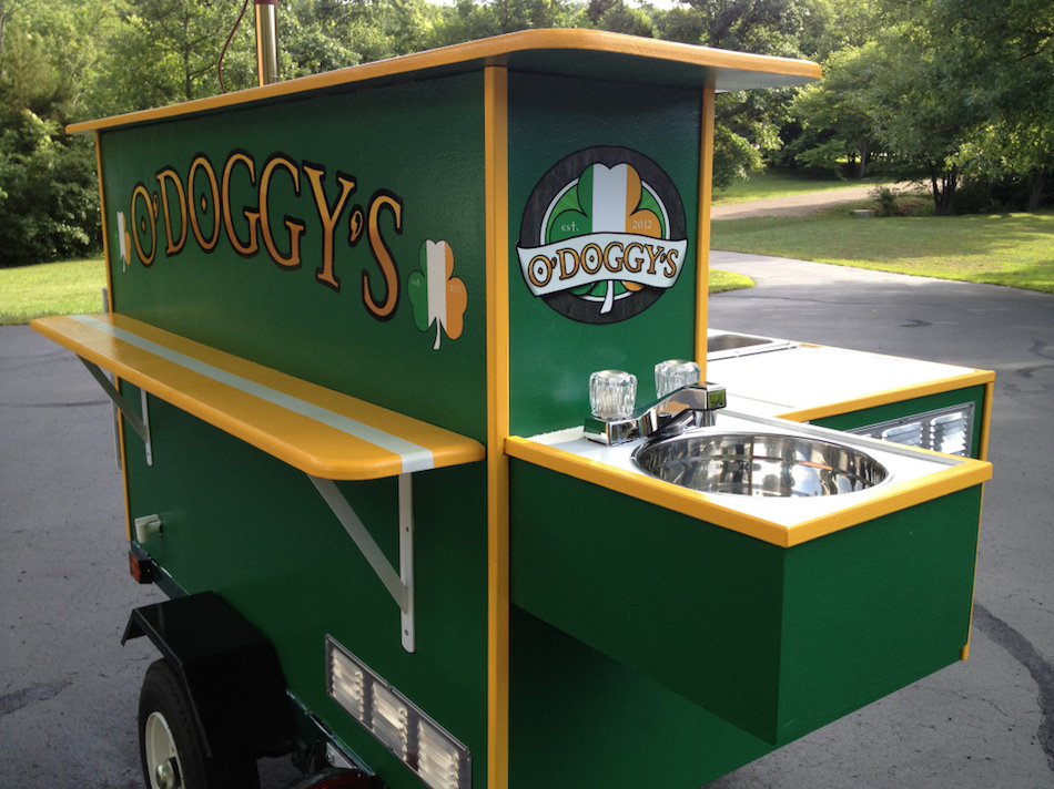 O'Doggies E-Z Built Hot Dog Cart