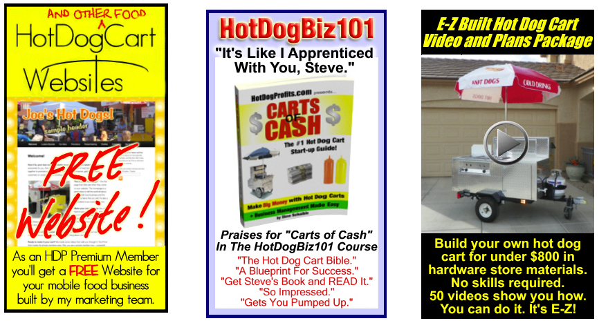 Hot Dog Cart Training Courses