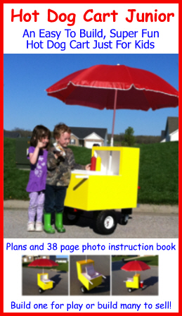 Hot Dog Cart Junior