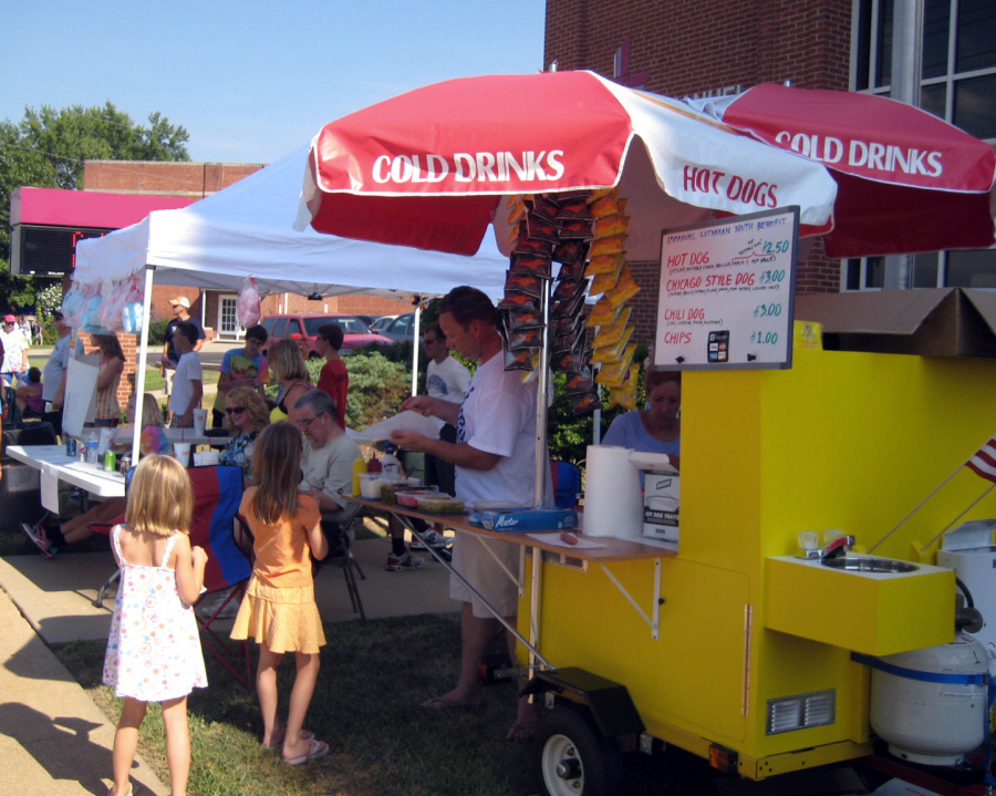 Hot Dog Profits trainer Steve Schaible is back at it with his second successful hot dog biz,